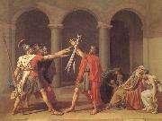 Oath of the Horatii Jacques-Louis David