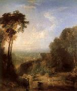 Across the river William Turner