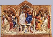 Coronation of the Virgin and Adoring Saints Lorenzo Monaco