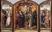 Crucifixion Altarpiece MASTER of the St. Bartholomew Altar