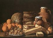 Still-Life with Oranges and Walnuts MELeNDEZ, Luis