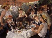 The Luncheon of the Boating Party renoir