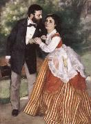 Alfred Sisley and His wife renoir