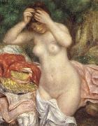 Bathing girl who sat up haret renoir