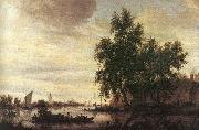 The Ferryboat Saloman van Ruysdael