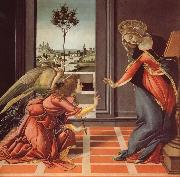 The Annunciation Sandro Botticelli