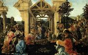 Adoration of the Magi Botticelli