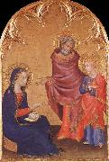 Jesus aterfinns in the sanctuary Simone Martini