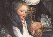 Details of The Artist and his Family (mk45) Jacob Jordaens