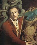 Self-Portrait as Timanthes James Barry