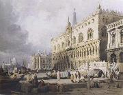 The Doge s Palace and the Grand Canal,Venice (mk47) Samuel Prout