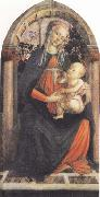 Madonna and Child or Madonna of the Rose Garden Sandro Botticelli