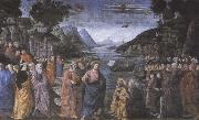 Domenico Ghirlandaio,The Calling of the first Apostles,Peter and Andrew Sandro Botticelli