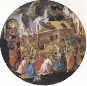 Filippo Lippi,Adoration of the Magi Sandro Botticelli