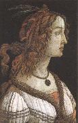 Workshop of Botticelli,Portrait of a Young woman Sandro Botticelli