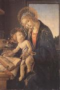 Madonna and child or Madonna of the book Sandro Botticelli