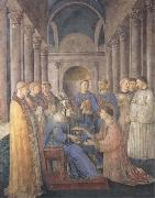 Fra Angelico,Ordination of St Lawrence Sandro Botticelli