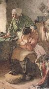 But Men must work and Women must weep (mk46) Walter Langley,RI