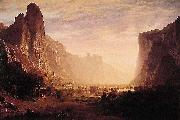 Albert Bierstadt Looking Down Yosemite Valley Albert Bierstadt