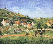Men farming Camille Pissarro