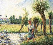 Ludas bank on women Camille Pissarro