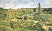Pang plans scenery Schwarz Camille Pissarro