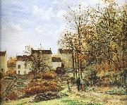 Walking in the countryside Camille Pissarro