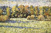 Landscape under the sun Camille Pissarro