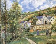 Pang map of the iceberg Schwarz Camille Pissarro