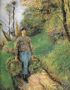 Mention hay farmer Camille Pissarro