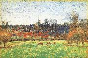 Egyptian Raney scenery Camille Pissarro