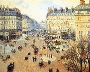 Winter afternoon, the French Theater Square Camille Pissarro