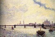 London Bridge Camille Pissarro