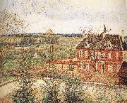 Deaf woman's home Camille Pissarro