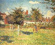 Afternoon sunshine Camille Pissarro