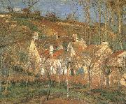 Red roof Camille Pissarro