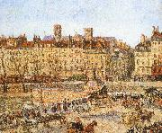 Bank on the afternoon of Camille Pissarro