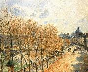 Morning sunshine Camille Pissarro