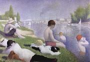 bathers as asnieres Georges Seurat