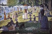 Island Bowl Sunday Georges Seurat