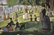 a sunday on la grande jatte 1884 Georges Seurat