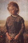 Poor little girl Uygur Li Ilia Efimovich Repin