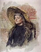 It is her portrait million Lease Ilia Efimovich Repin
