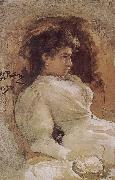 Arranges in order the guest portrait Ilia Efimovich Repin