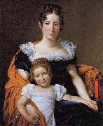 The Comtesse Vilain XIIII and Her Daughter Jacques-Louis David