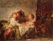 The Captured Kiss, the Hermitage, St. Petersburg Jean-Honore Fragonard