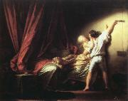the bolt Jean-Honore Fragonard