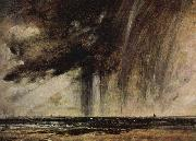 Constable Seascape Study with Rain Cloud c.1824 John Constable
