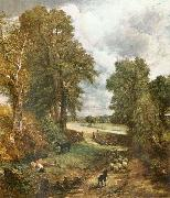 Constable The Cornfield of 1826 John Constable