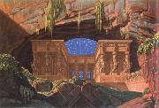 the temple of lsis and osiris Karl friedrich schinkel